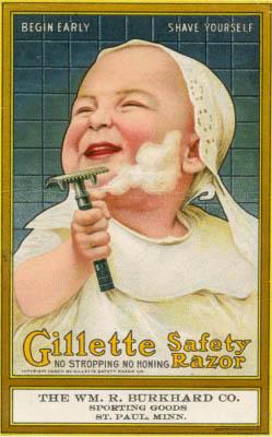 anunci primigeni de Gillete