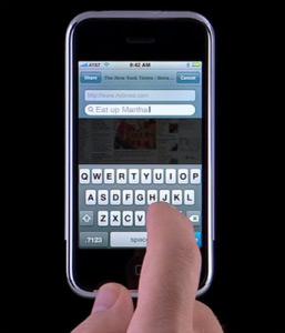 foto d'un iphone
