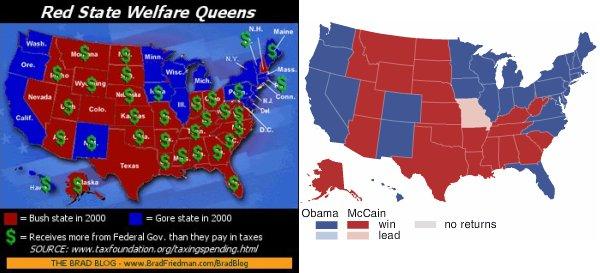 mapa de finançament i mapa electoral